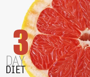 The 3 Day Diet promises up to 10 pounds of weight loss in three days ...
