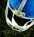 empty football helmet