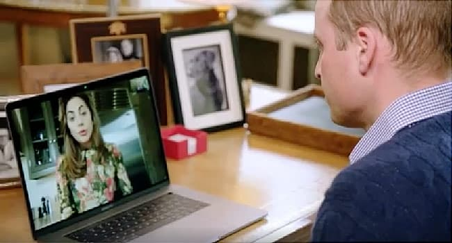 prince william skyping with lady gaga