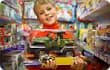 boy in toy store