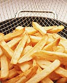 Study found those who ate fried, salty foods and