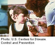 Thumbnail Image:Study: Older Whooping Cough Vaccine More Effective