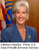 HHS secretary said improvements under way at