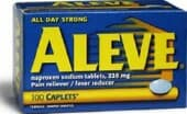 Studies suggest naproxen (Aleve) may pose less of