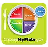 USDA my plate icon
