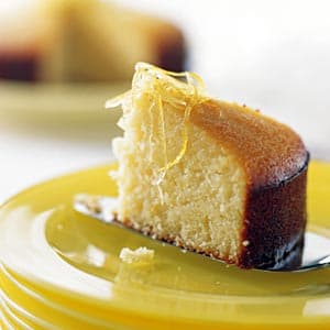 Baked Lemon Pudding Cake