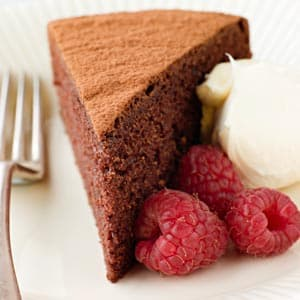 Chocolate-Mocha Angel Food Cake