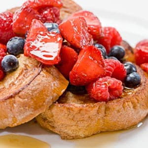Cinnamon Swirl Yogurt French Toast
