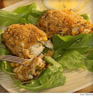cajun crab croquettes