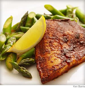 Chili Tilapia with Asparagus