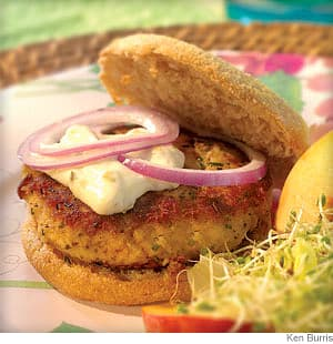 Crab Cake Burgers