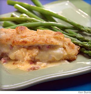 Ham and Cheese Chicken