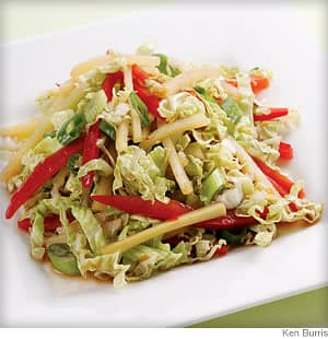 Hot &amp; Sour Slaw