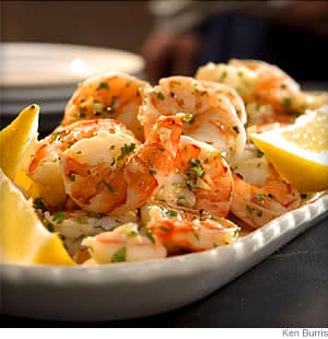 lemon garlic marinated shrimp