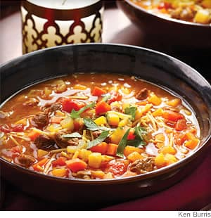 moroccan vegetable soup chorba