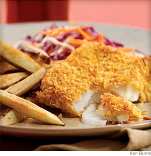 Oven Fish and Chips