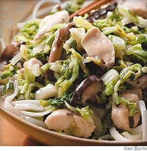 Saucy Coconut-Chicken Stir-Fry