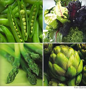 Spring Vegetable Guide