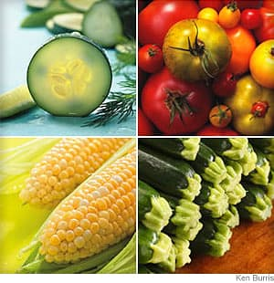 Summer Vegetable Guide