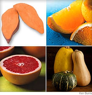 Winter Fruits and Vegetables Guide