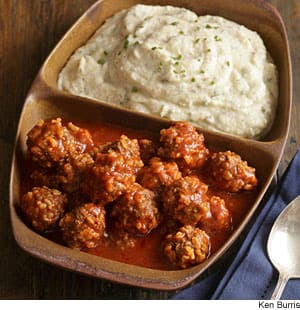 Saucy Porcupine Meatballs