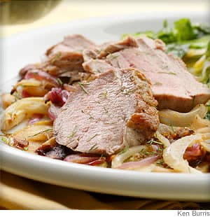 Apple-Fennel Pork