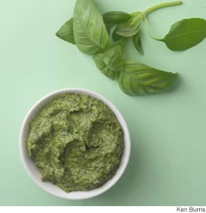 ... pesto basic basil walnut pesto recipes dishmaps basic basil walnut