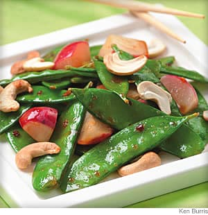 Cashew and Snow Pea Stir-Fry