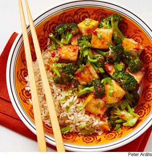Chipotle peppers add kick to this tofu and broccoli stir-fry recipe ...