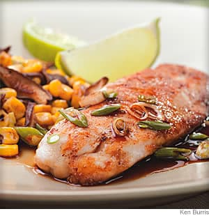 Five-Spice Tilapia