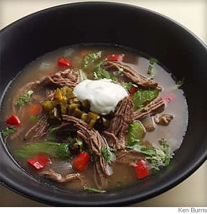 Fragrant Shredded Beef Stew