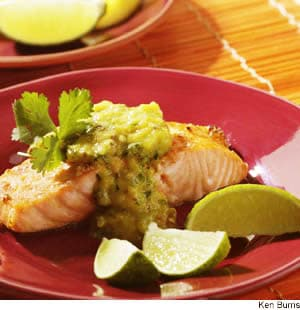 ... sauce which accents simply broiled salmon wonderfully broiling salmon