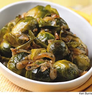Thyme-Braised Brussels Sprouts