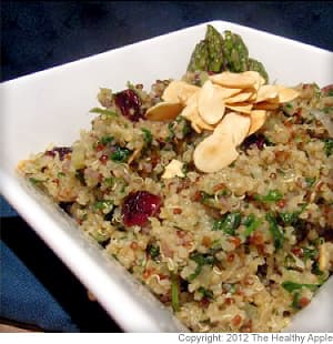 Cranberry and Mint Quinoa