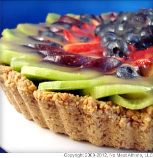 Fresh Fruit Tart With Almond Crust