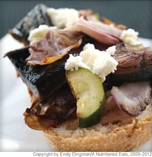 Grilled Vegetable Crostini