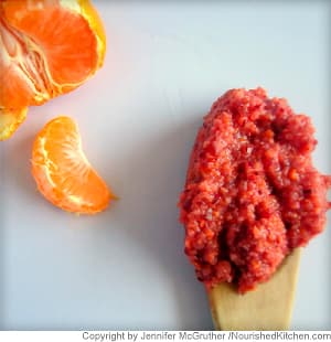 Mandarin and Cranberry Relish