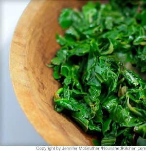 Sautéed Greens with Garlic