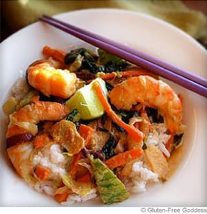 Sesame Shrimp Stir Fry