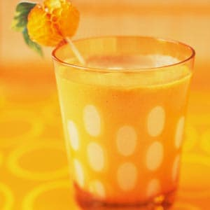Frosty Pine-Orange Yogurt Smoothie