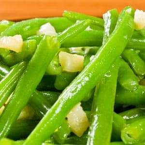 Savory Sugar Snap Peas (or Green Beans)