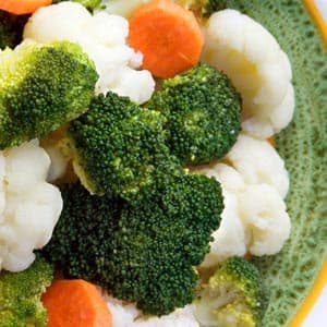 Vegetables with a Touch of Lemon