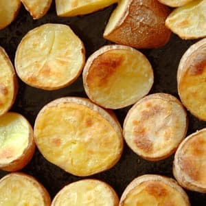Baked Seasoned Potato Chips