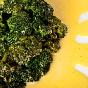 Broccoli with 3-Minute Lemon Sauce