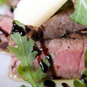 Grilled Wine Country Beef with Arugula