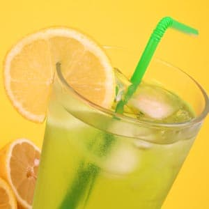 Lemon Ginger Iced Green Tea