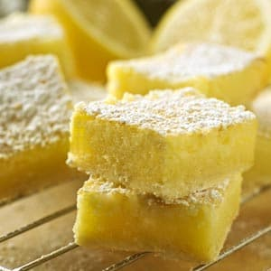 Lemon Yogurt Bars