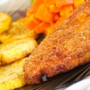 Parmesan-Crusted Chicken Breast