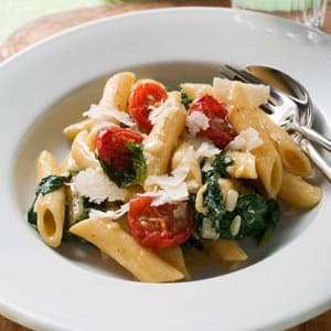 Spinach and Tomato Pasta