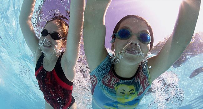 What s lurking in your pool water for What causes ear infections from swimming pools